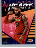 2018-19 Donruss All Heart Basketball Insert #13 LeBron James Los Angeles Lakers  Official NBA Trading Card Produced By Panini