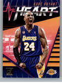 2018-19 Donruss All Heart Basketball Insert #19 Kobe Bryant Los Angeles Lakers  Official NBA Trading Card Produced By Panini