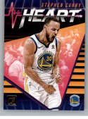 2018-19 Donruss All Heart Basketball Insert #20 Stephen Curry Golden State Warriors  Official NBA Trading Card Produced By Panini