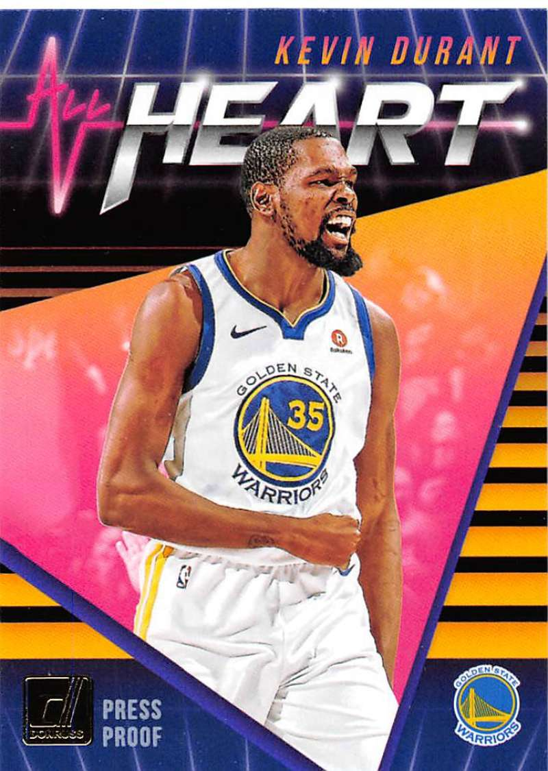 2018-19 Donruss  All Heart Press Proof