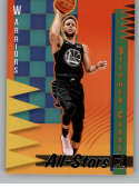 2018-19 Donruss All-Stars Basketball Insert #13 Stephen Curry Golden State Warriors  Official NBA Trading Card Produced By Panini
