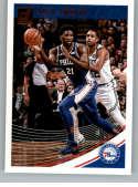2018-19 Donruss #99 Joel Embiid NM-MT Philadelphia 76ers