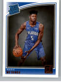 2018-19 Donruss #160 Mo Bamba Rated Rookie NM-MT RC Rookie Orlando Magic