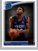 2018-19 Donruss #163 Mitchell Robinson Rated Rookie NM-MT RC Rookie New York Knicks