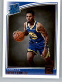 2018-19 Donruss #178 Jacob Evans III Rated Rookie NM-MT RC Rookie Golden State Warriors