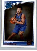 2018-19 Donruss #179 Jalen Brunson Rated Rookie NM-MT RC Rookie Dallas Mavericks