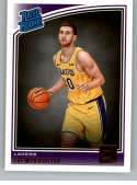 2018-19 Donruss #193 Svi Mykhailiuk Rated Rookie NM-MT RC Rookie Los Angeles Lakers