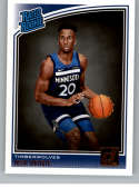 2018-19 Donruss #194 Josh Okogie Rated Rookie NM-MT RC Rookie Minnesota Timberwolves