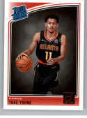2018-19 Donruss #198 Trae Young Rated Rookie NM+ RC Rookie