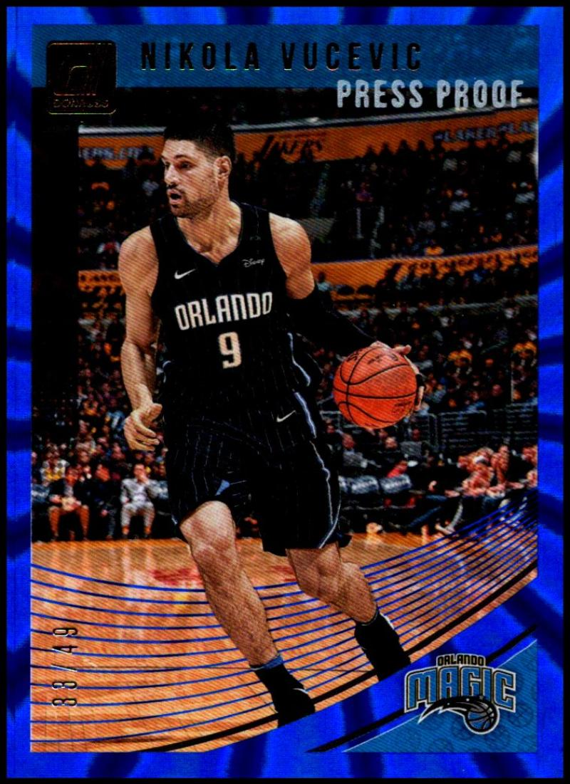 2018-19 Donruss  Press Proof Blue Laser