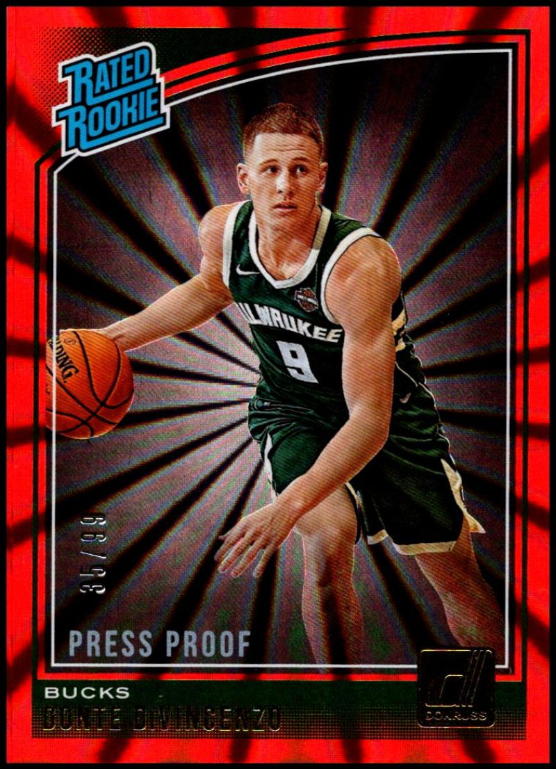 2018-19 Donruss  Press Proof Red Laser