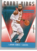 2018-19 Donruss Court Kings #19 LeBron James NM+