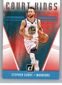 2018-19 Donruss Court Kings #21 Stephen Curry NM+