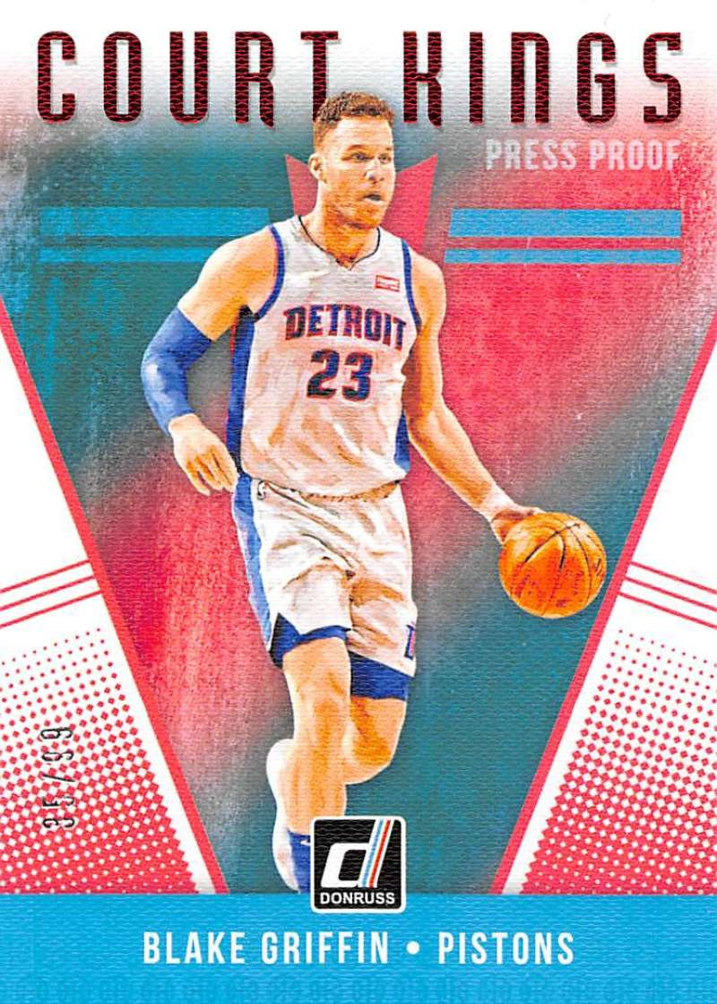 2018-19 Donruss  Court Kings Press Proof Red