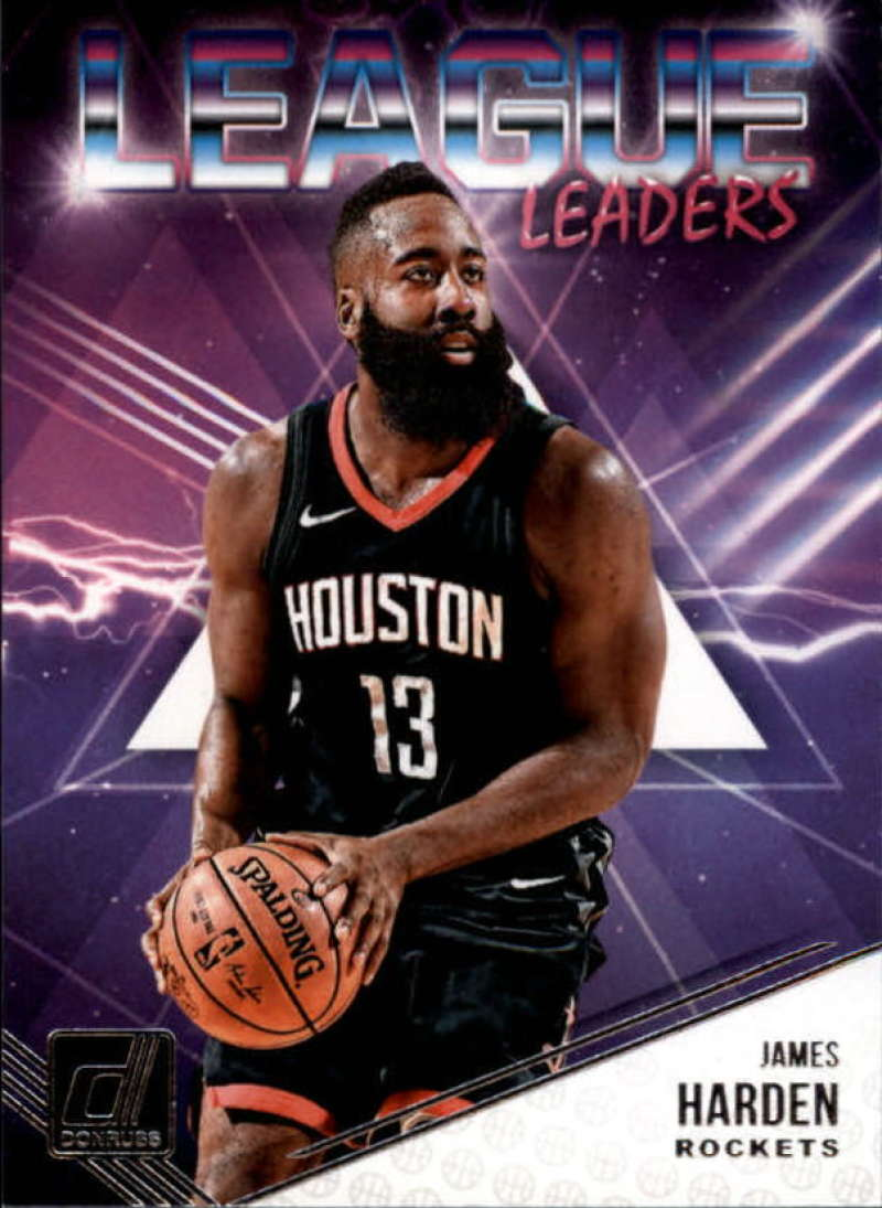 2018-19 Donruss  League Leaders