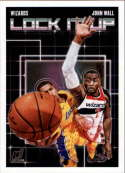 2018-19 Donruss Lock it Up Basketball Insert #7 John Wall Washington Wizards  Official NBA Trading Card Produced By Panini Retail Only