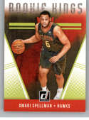 2018-19 Donruss Rookie Kings Basketball Insert #18 Omari Spellman Atlanta Hawks  Official NBA Rookie Card RC (made by Panini)