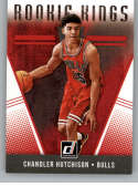 2018-19 Donruss Rookie Kings Basketball Insert #29 Chandler Hutchison Chicago Bulls  Official NBA Rookie Card RC (made by Panini)