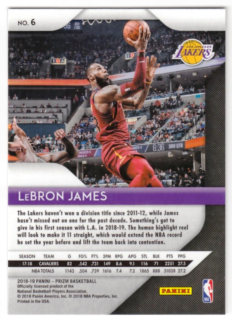 2018-19-Panini-Prizm-Basketball-Pick-A-Card-Cards-1-150 thumbnail 8