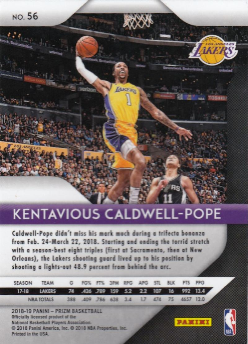 2018-19-Panini-Prizm-Basketball-Pick-A-Card-Cards-1-150 thumbnail 62