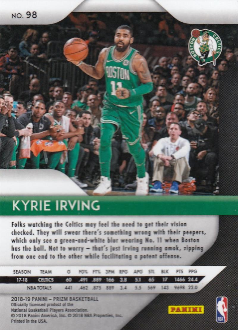 2018-19-Panini-Prizm-Basketball-Pick-A-Card-Cards-1-150 thumbnail 106