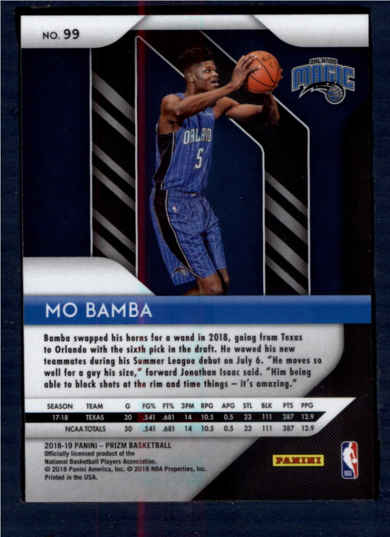 2018-19-Panini-Prizm-Basketball-Pick-A-Card-Cards-1-150 thumbnail 108