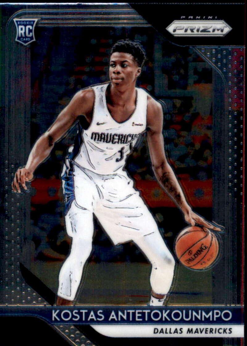2018-19 Panini Prizm #22 Kostas Antetokounmpo RC NM-MT Dallas Mavericks Official NBA Basketball Card
