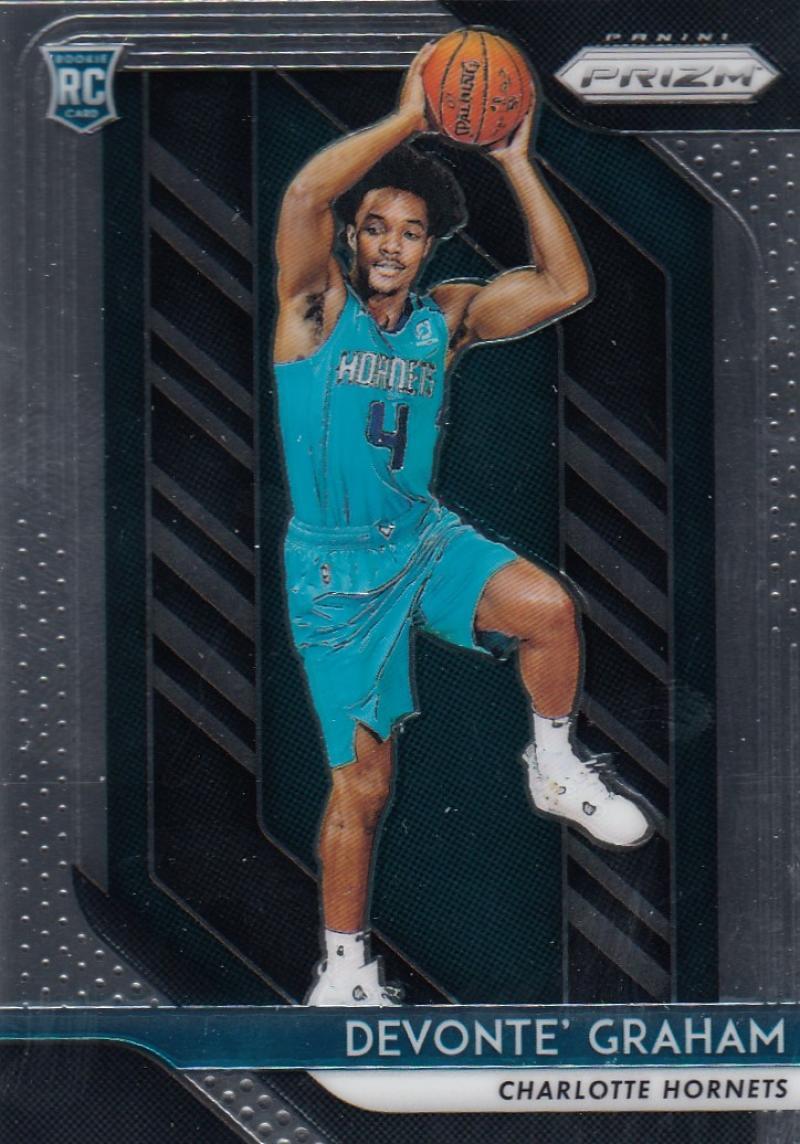 2018-19 Panini Prizm #288 Devonte' Graham RC NM-MT Charlotte Hornets Official NBA Basketball Card