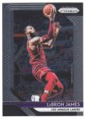 2018-19 Panini Prizm #6 LeBron James NM-MT Los Angeles Lakers Official NBA Basketball Card