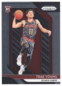 2018-19 Panini Prizm Basketball #78 Trae Young Atlanta Hawks  RC Rookie Official NBA Trading Card