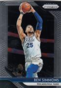 2018-19 Panini Prizm #219 Ben Simmons NM-MT Philadelphia 76ers Official NBA Basketball Card