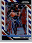 2018-19 Panini Prizm Red White Blue Starburst Refractor #86 Mike Conley Memphis Grizzlies Official NBA Basketball Tradin