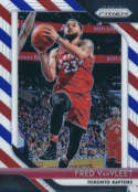 2018-19 Panini Prizm Red White Blue Starburst Refractor #103 Fred VanVleet Toronto Raptors Official NBA Basketball Tradi