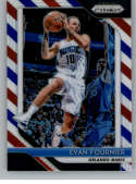 2018-19 Panini Prizm Red White Blue Starburst Refractor #139 Evan Fournier Orlando Magic Official NBA Basketball Trading