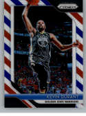 2018-19 Panini Prizm Red White Blue Starburst Refractor #252 Kevin Durant Golden State Warriors Official NBA Basketball