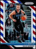 2018-19 Panini Prizm Red White Blue Starburst Refractor #270 J.J. Barea Dallas Mavericks Official NBA Basketball Trading