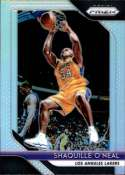 2018-19 Panini Prizm SILVER Refractor #35 Shaquille O'Neal Los Angeles Lakers Official NBA Basketball Trading Card