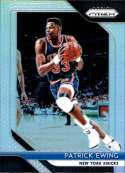 2018-19 Panini Prizm SILVER Refractor #105 Patrick Ewing New York Knicks Official NBA Basketball Trading Card