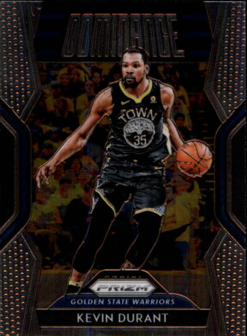2018-19 Panini Prizm Dominance #9 Kevin Durant NM-MT Golden State Warriors Official NBA Basketball Card