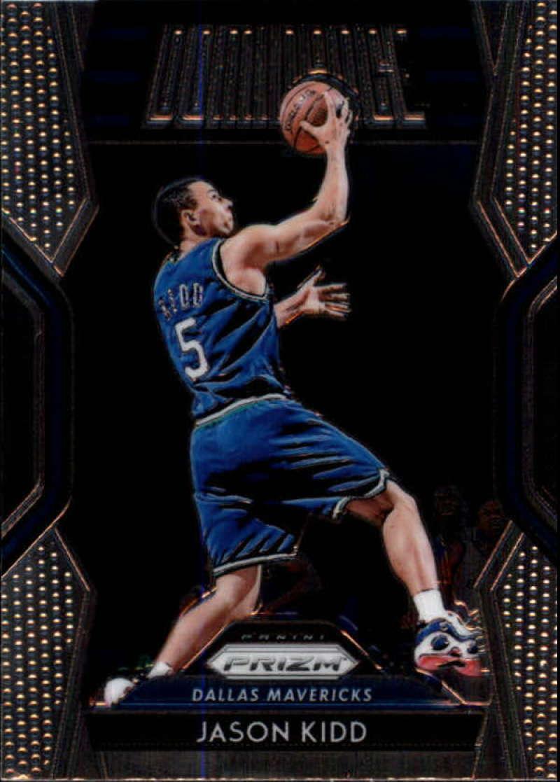 2018-19 Panini Prizm Dominance #13 Jason Kidd NM-MT Dallas Mavericks Official NBA Basketball Card