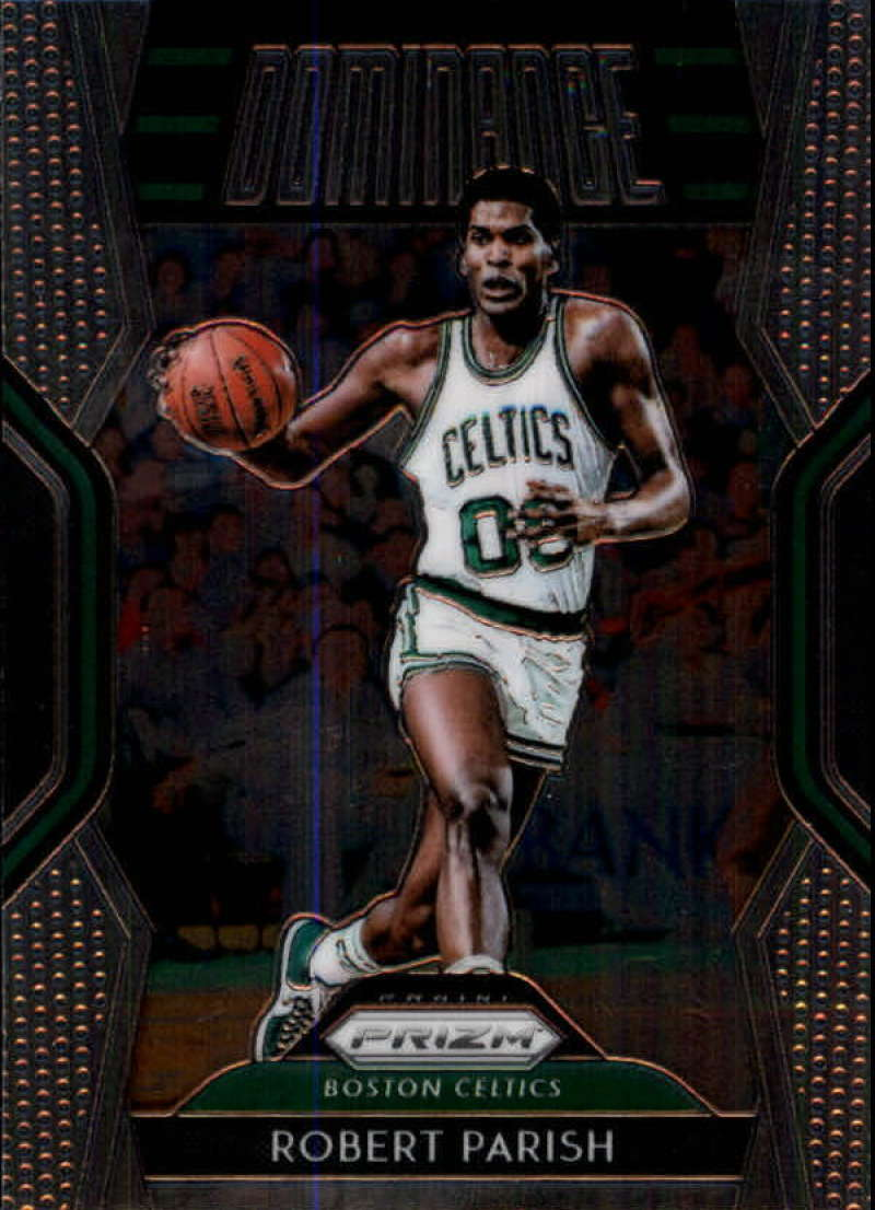 2018-19 Panini Prizm Dominance #14 Robert Parish NM-MT Boston Celtics Official NBA Basketball Card