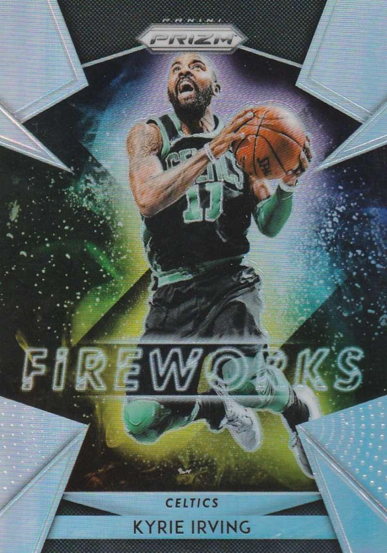 2018-19 Panini Prizm Fireworks Prizms Silver
