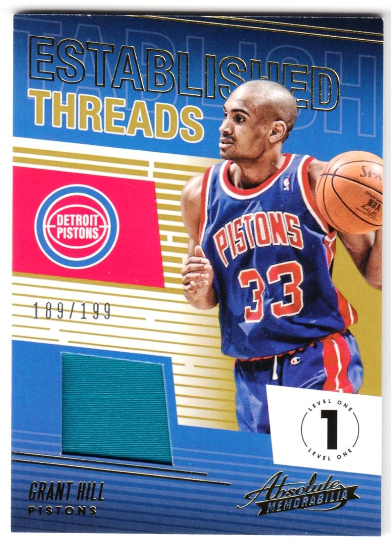 2018-19 Panini Absolute Established Threads