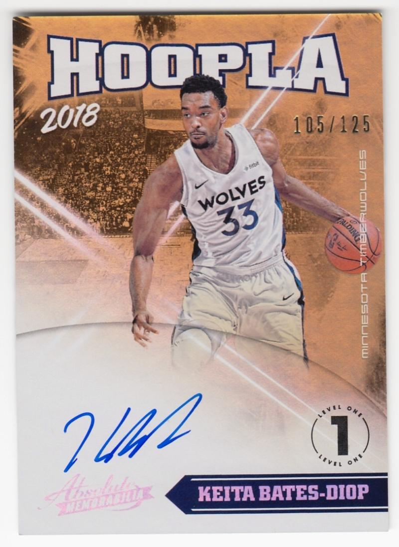2018-19 Panini Absolute Hoopla Signatures