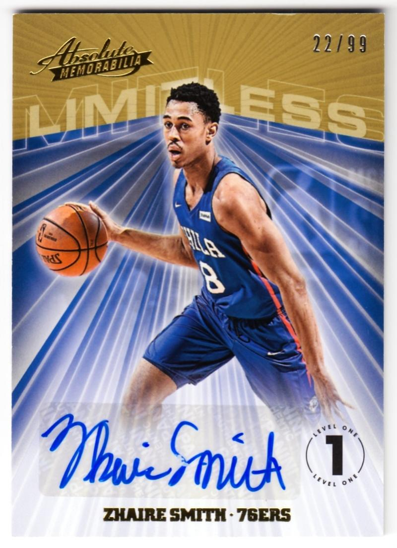 2018-19 Panini Absolute Limitless Signatures