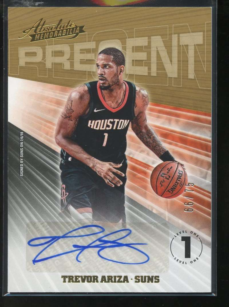 2018-19 Panini Absolute Present Autographs