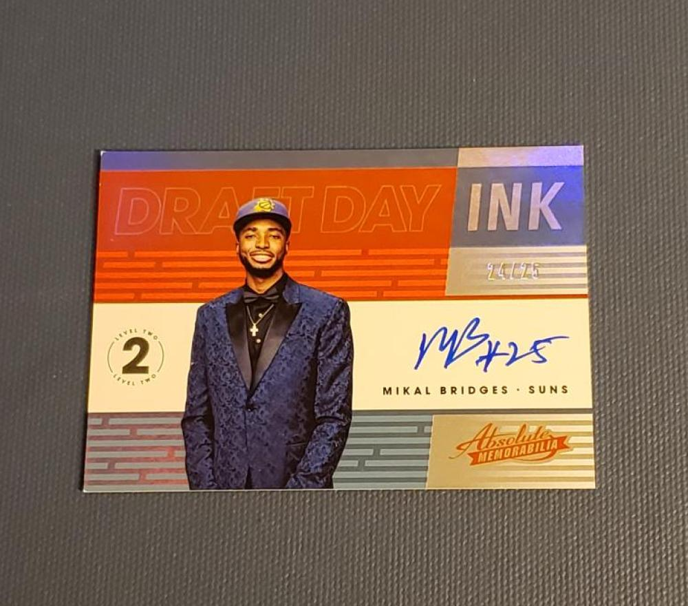 2018-19 Panini Absolute Rookie Autographs Level 2