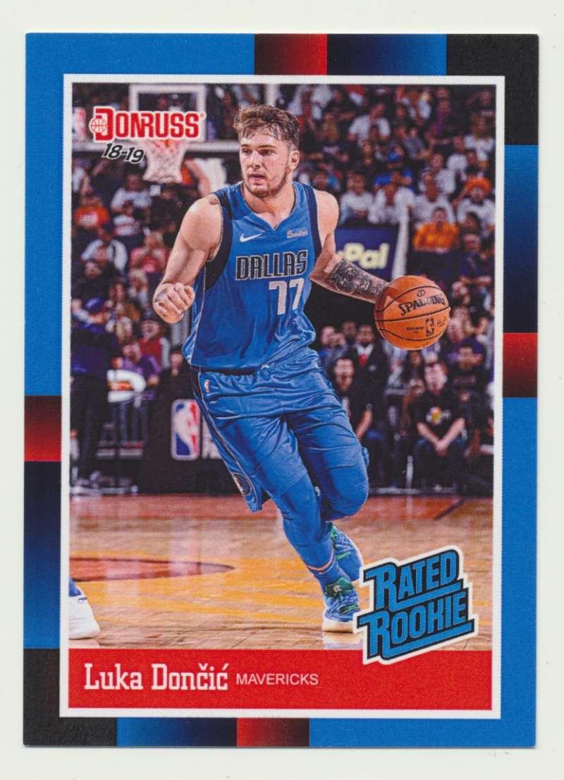 2018-19 Panini Instant NBA 1988 Rated Rookie Retro #RR3 Luka Doncic RC Rookie Dallas Mavericks
