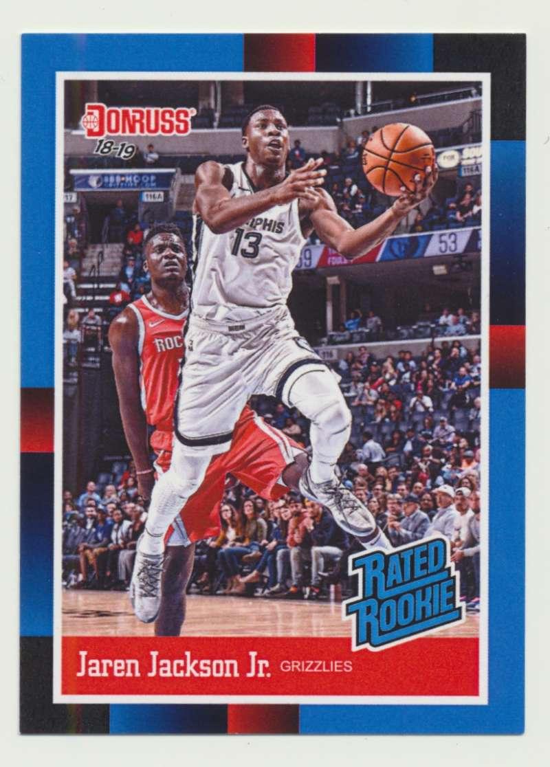 2018-19 Panini Instant NBA 1988 Rated Rookie Retro #RR4 Jaren Jackson Jr RC Rookie Memphis Grizzlies