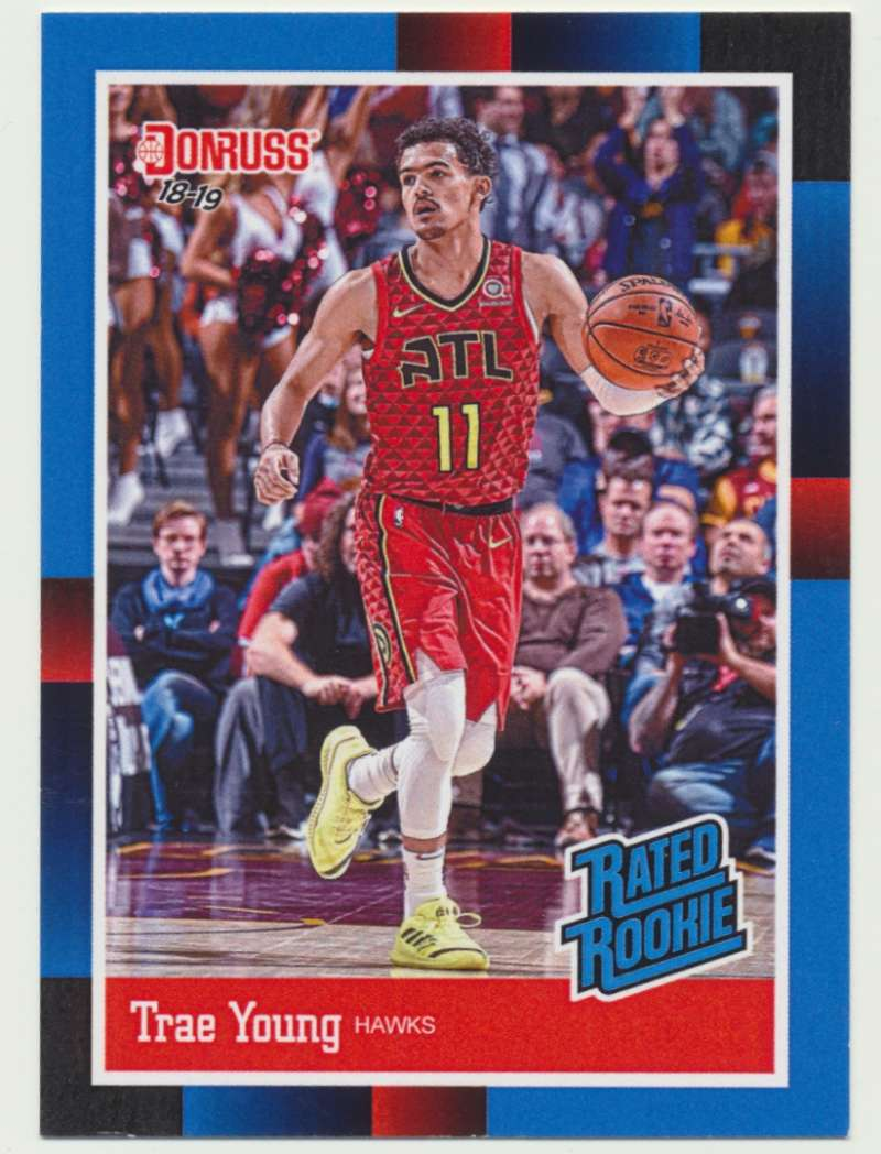 2018-19 Panini Instant NBA 1988 Rated Rookie Retro #RR5 Trae Young RC Rookie Atlanta Hawks